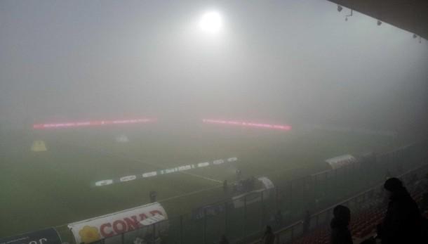 Calcio:rinvio per nebbia Perugia-Vicenza