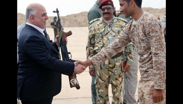 Premier Iraq visita Ramadi
