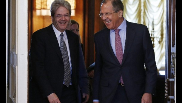 Gentiloni e Lavrov, insieme contro Isis