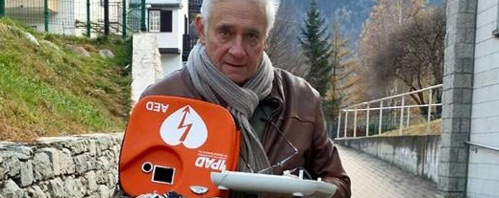 Sondalo, defibrillatore distrutto dai vandali. Una colletta per ricomprarlo