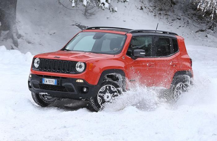 Jeep Renegade, la prova sulla neve