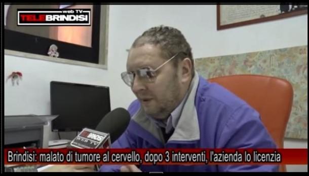 Licenziato per malattia a Brindisi