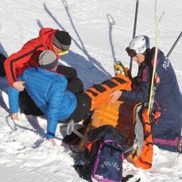 Tragedia sulle piste da sci, contro un palo e muore