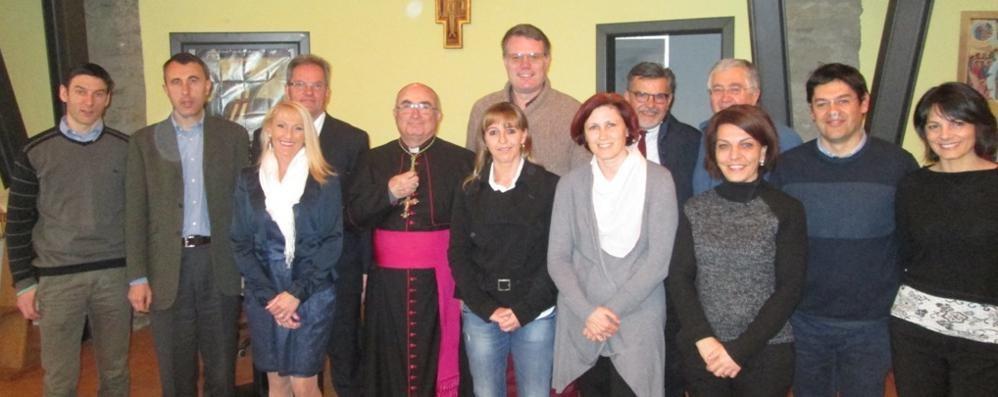"""Il Vescovo Coletti a Grosio:   """"Si salvi chi può"""" non è la soluzione"""
