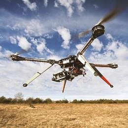 Un drone contro la siccità: in Alta Valle con Levissima