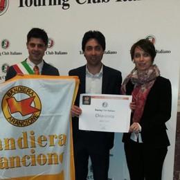 Sventola bandiera arancione: Chiavenna si riconferma al top