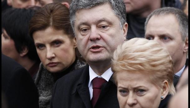 Poroshenko,da Renzi sostegno molto forte