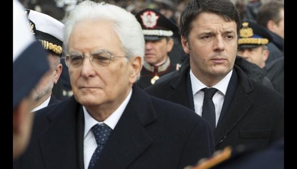 Renzi, impegno con Colle per meno Dl
