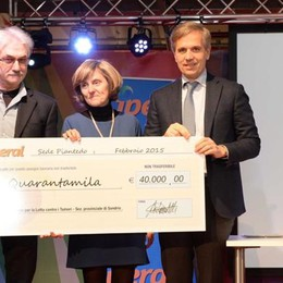 La spesa che fa bene  Consegnati 150mila euro
