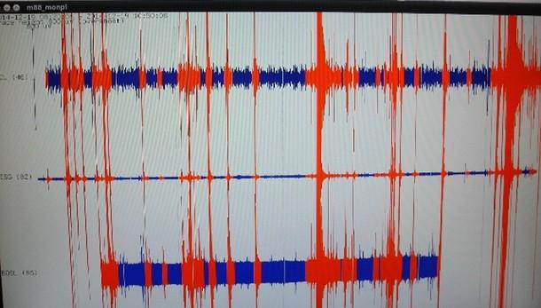 Due scosse 2.5 Richter sull'Appennino