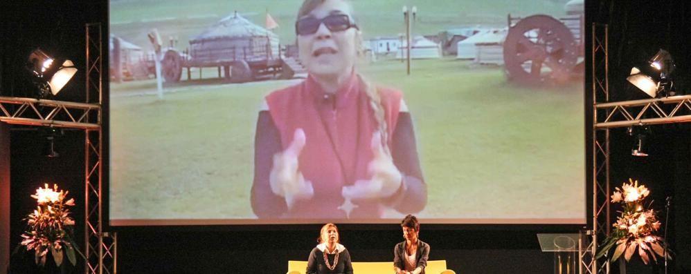 Syusy Blady in Valtellina  Turista non per caso