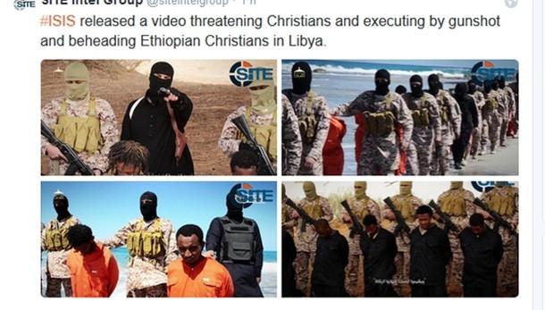 Isis: cristiani uccisi erano migranti