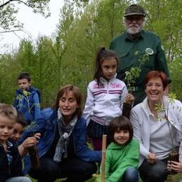 "La ""Festa degli alberi""  nel bosco dei bambini"