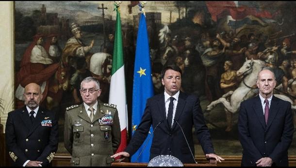 Libia: Renzi, escludo intervento terra