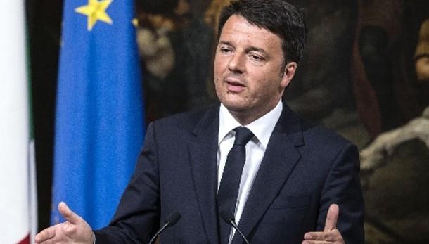 Renzi, non naufragio ma crisi umanitaria