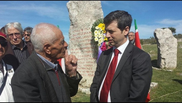 Ministro Orlando a Portella Ginestra