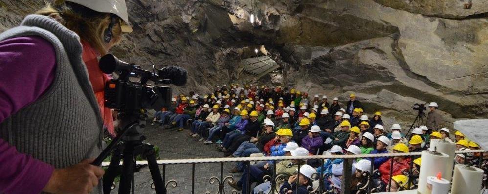 Giornata sulle miniere  Più di 600  presenze