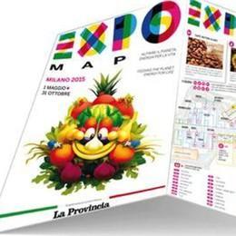 La Provincia regala  la mappa di Expo