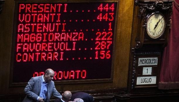 Eni: Camera accoglie dimissioni Pistelli
