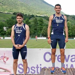 Record valtellinese per Marco Simonini nei duecento metri