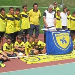 Il camp del Chievo per i calciatori in erba  «Un sogno giallo e blu»