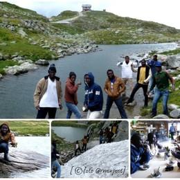 Gita in montagna profughi in A. Adige