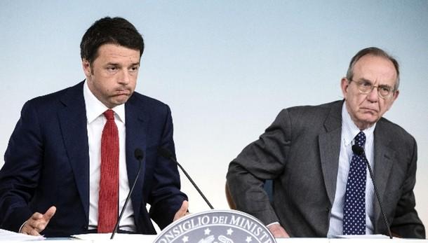 L.stabilità: Renzi incontra Padoan
