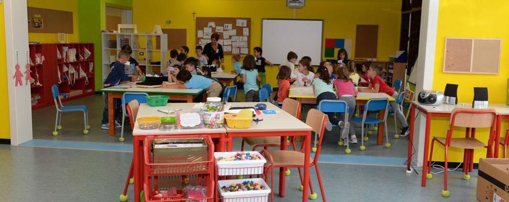 A Talamona la prima classe senza zaino in Valtellina