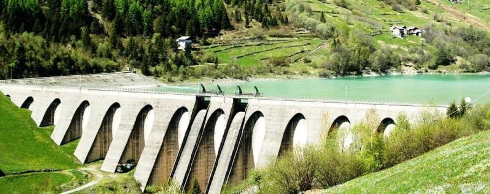 Lavori alla diga di Valgrosina: due settimane per lo svaso