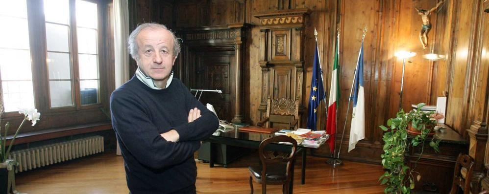 Il sindaco di Sondrio guadagna consensi