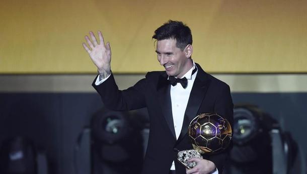 Pallone d'Oro, la felicità di Messi