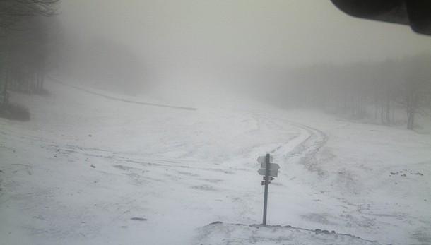 Allerta neve e burrasche al Centro-Sud