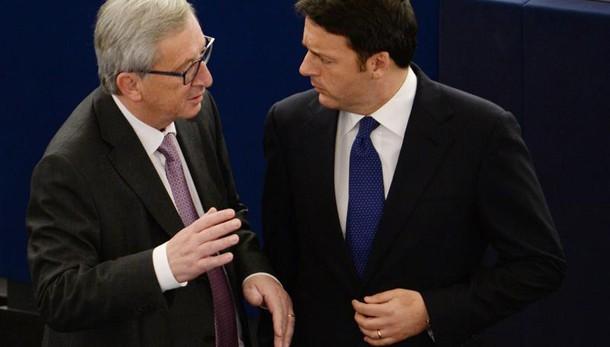 Juncker,Renzi non offenda commissione Ue