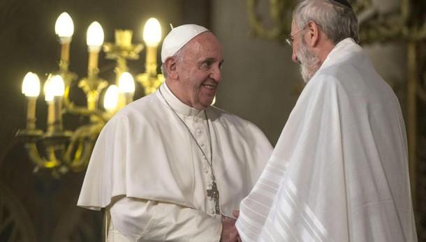 Papa: Sinagoga,violenza contraddice fede