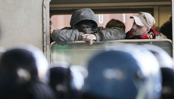 Scontri a Bergamo, 10 ultras arrestati