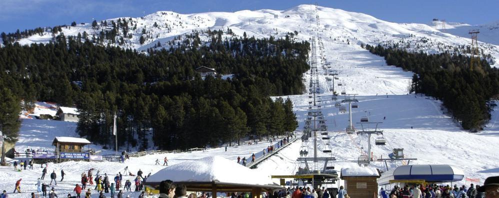 Impianti in crisi per l'assenza di neve