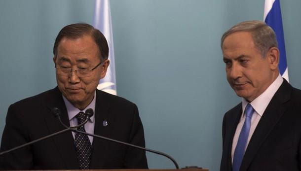 Portavoce Ban, Netanyahu distorce realtà