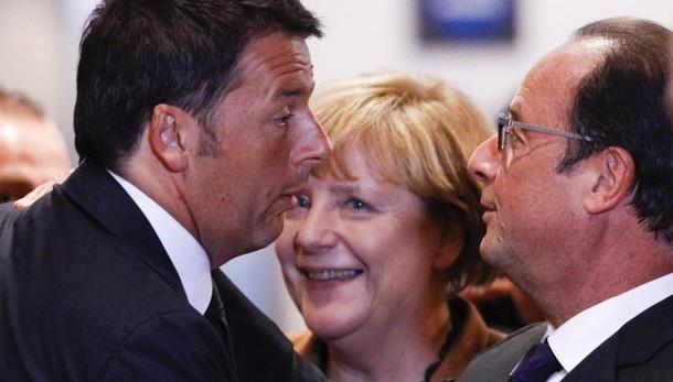 Renzi: senza crescita l'Ue ai populisti