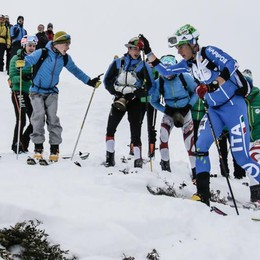 Scialpinismo, prime emozioni in Coppa con Albosaggia protagonista