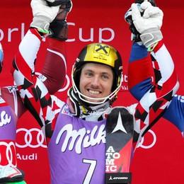 Sci alpino, lo slalom di Valfurva all'austriaco Hirscher