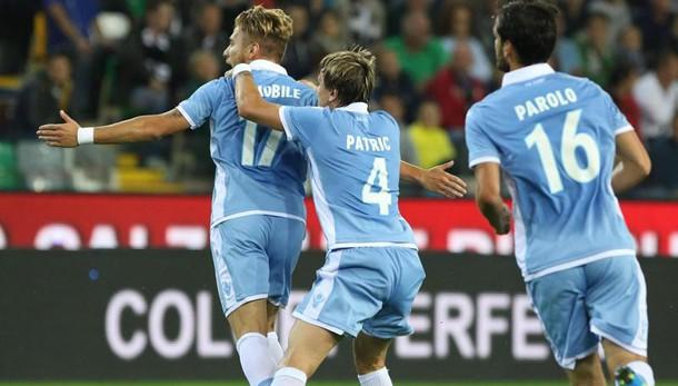 Anticipo serie A: Udinese-Lazio 0-3