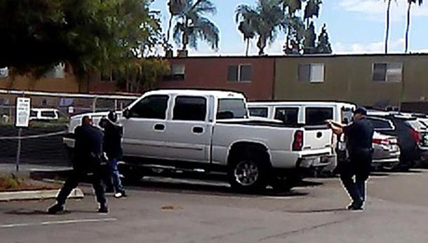 Diffuso video nero ucciso a San Diego