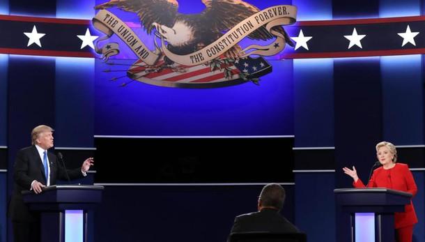 Effetto Fbi, Clinton a 46%, Trump a 43%
