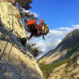 Cade e muore alpinista in Trentino