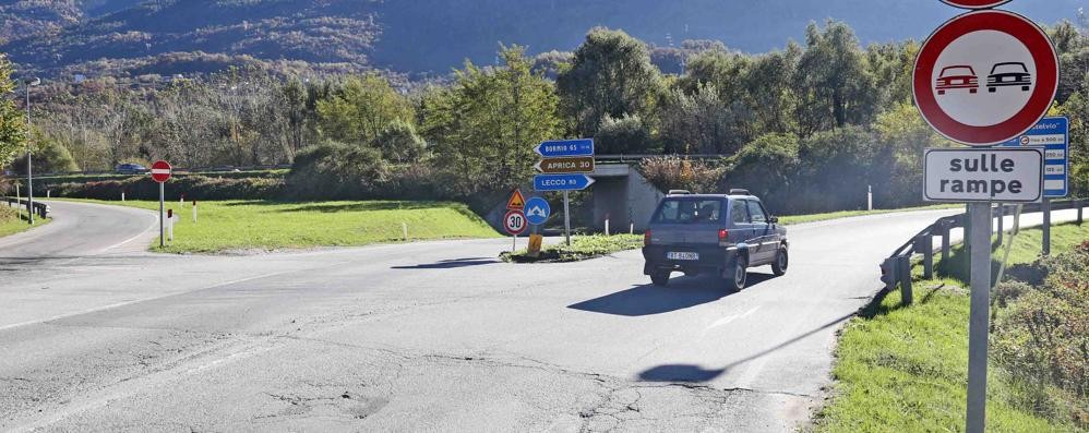 Nuovo svincolo della tangenziale a Sondrio: apre il cantiere