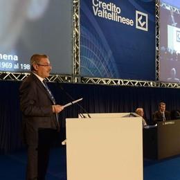 Il Credito Valtellinese è diventato una società per azioni