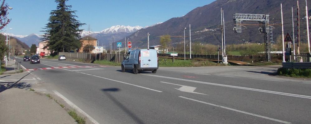 Attraversamenti pedonali sulla statale  Via ai lavori per la messa in sicurezza