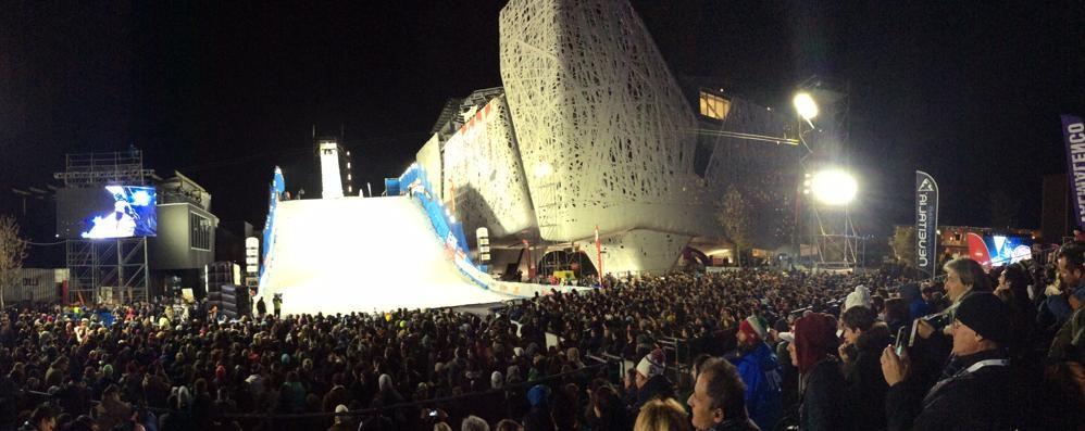 Valmalenco promossa a Milano  Che spettacolo le sfide sulla neve