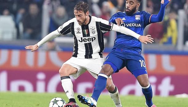 Champions: Juventus-Lione 1-1