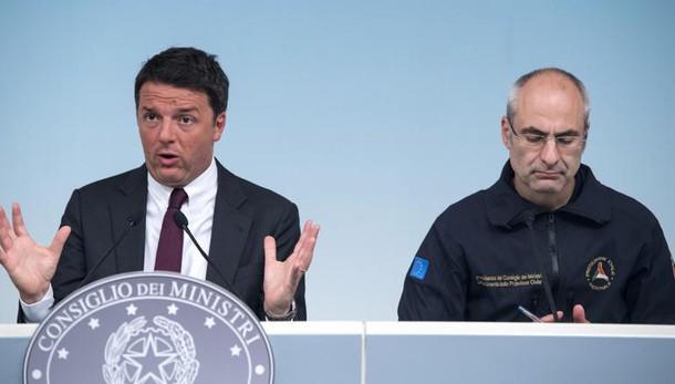 Renzi, no aumento tasse per il sisma